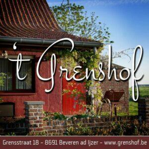 Grenshof vakantiewoning Alveringem