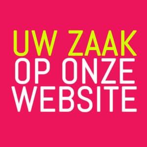 Uw zaak op onze website