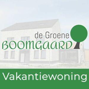 Vakantiewoning De Groene Boomgaard